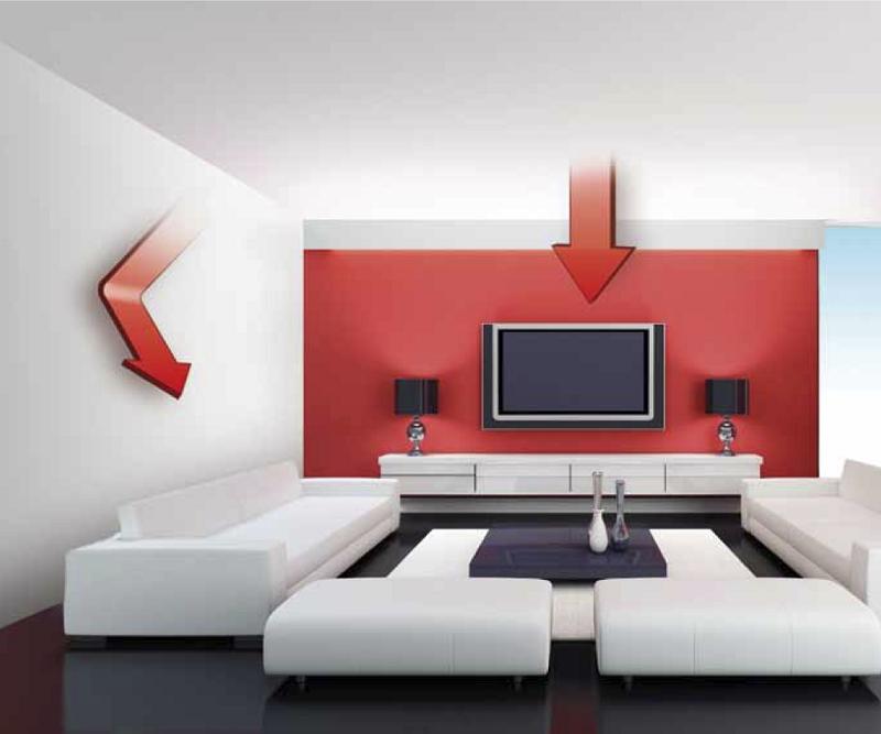 infrarouge panneaux de plafond 600 chauffant lectrique. Black Bedroom Furniture Sets. Home Design Ideas