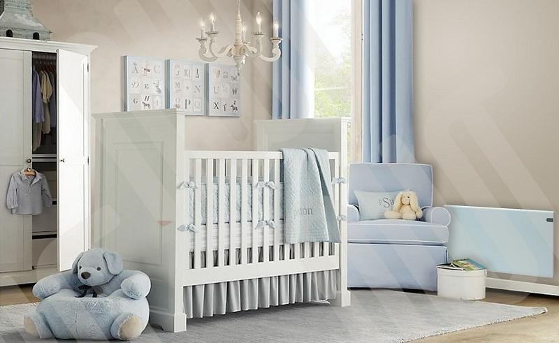 Adax neo design b b bleu lectrique chauffage - Chauffage pour chambre bebe ...